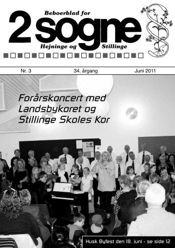 Forårskoncert med Landsbykoret og Stillinge ... - Hejninge Stillinge