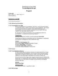 Redaktørernes døgn 2008 - program (PDF-fil) - UPDATE
