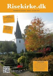 Kirkeblad for september · oktober · november 2012 ... - Rise Kirke