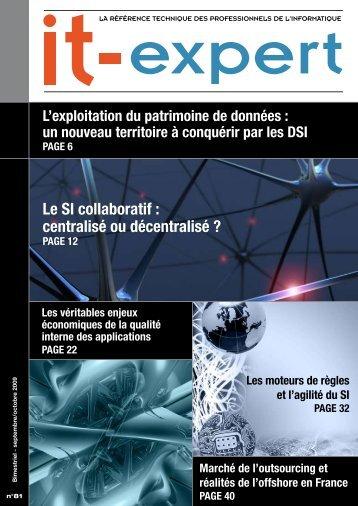 Le SI collaboratif : centralisé ou décentralisé ? - IT-expert