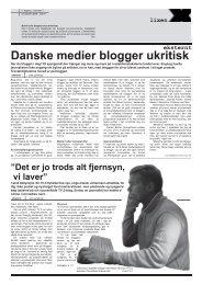 Danske medier blogger ukritisk - jens guldborg dk