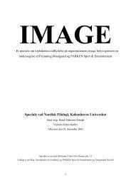 Speciale ved Nordisk Filologi, Københavns Universitet - Dansk.dk