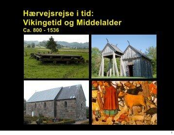 Link: Hærvejsrejse i tid: vikingetid og middelalder