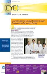 View Winter 2013 EYE Newsletter - Jules Stein Eye Institute