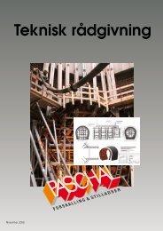Teknisk rådgivning brochure - PASCHAL-Danmark A/S