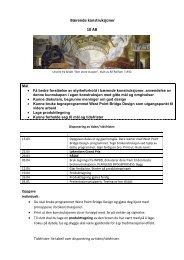 VEDLEGG 10.trinn kunst og håndverk Arkitektur og brokonstruksjon