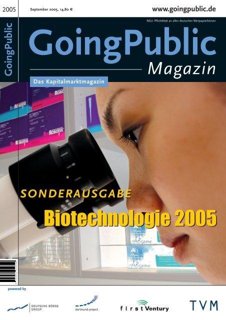 GoingPublic - MIG Fonds