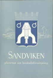 Sandviken planerar sin bostadsförsörjning - 150 års jubileum