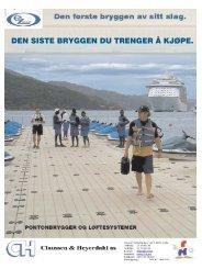 EZ-Dock Produkt og prisliste Norsk.indd