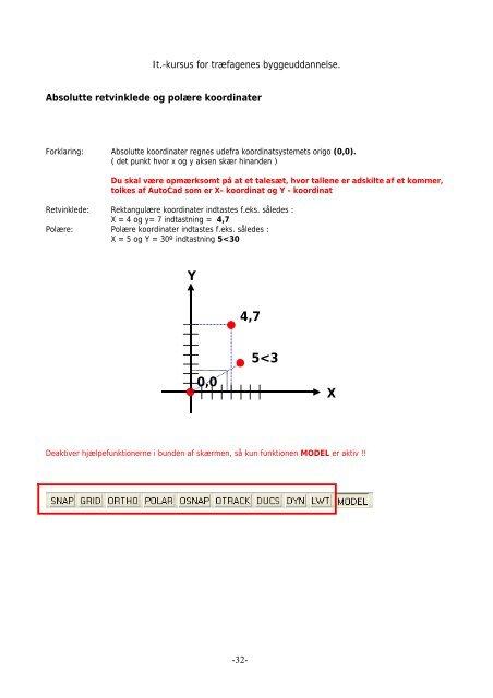 Manual til kursus