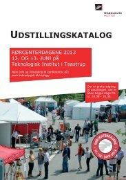 Udstillingskatalog 2013 (2.5 MB) - Teknologisk Institut