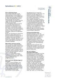 Nyhedsbrev 2 2012 - Den jydske Haandværkerskole