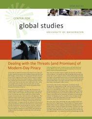 global studies - Jackson School of International Studies - University ...