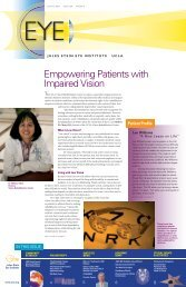 Empowering Patients with Impaired Vision - Jules Stein Eye Institute