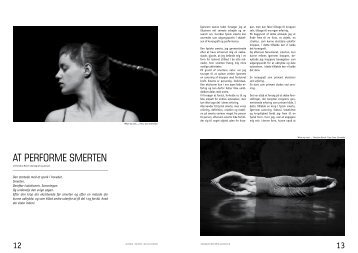 AT PERFORME SMERTEN - Christine Borch