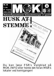 HUSK AT STEMME! - MOK