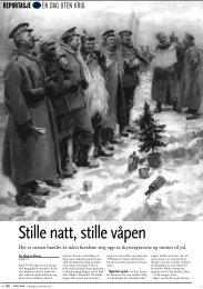 Stille natt, stille våpen - Per Magnus Riseng