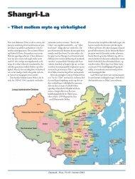 Tibet mellem myte og virkelighed - Venskabsforbundet Danmark-Kina