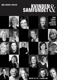 Anmeldelser - Dansk Kvindesamfund