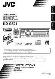 KD-G521 - Jvc