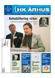 Rehabilitering virker - HK