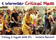 1. Wormser Critical Mass - JPBerlin