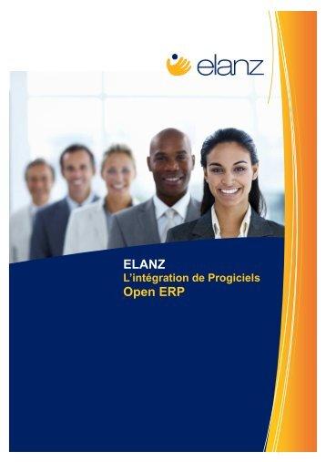 Télécharger notre brochure complète « Elanz - OPEN ERP
