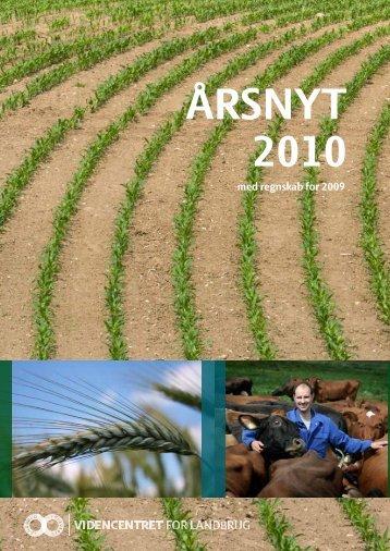 med regnskab for 2009 - Videncentret for Landbrug