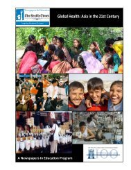 Global Health: Asia in the 21st Century (2009) - Jackson School of ...