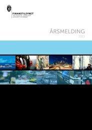 Årsmelding 2011 - Finanstilsynet