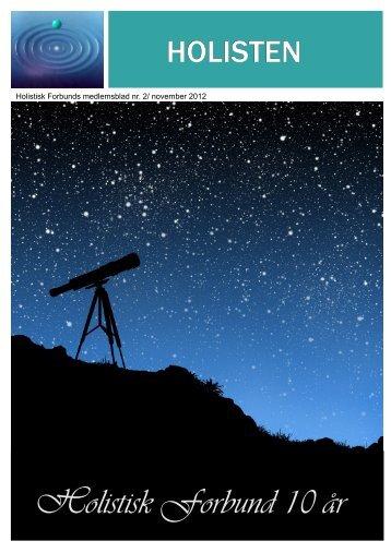 Nr 2 2012 Jubileumsnummer.pdf - Holistisk Forbund