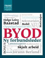 Last ned Finansfokus 02/13 som PDF - Finansforbundet
