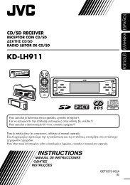 KD-LH911 - Jvc