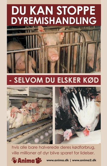 DU KAN StOppE - Vegan Outreach
