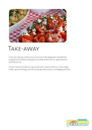 Take-away - Havnehytten