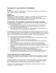 Personalepolitiske retningslinjer