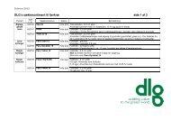 Oversigt over DLG's foderblandinger til fjerkræ, der forhandles i sække
