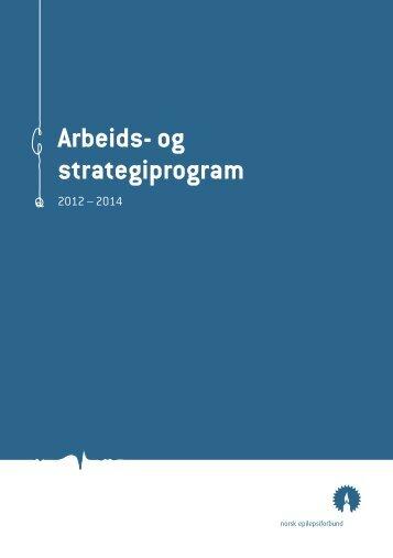 Arbeids- og strategiprogram 2012 - 2014 - Norsk Epilepsiforbund