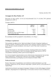 Årsrapport 2010 - Rose Poultry A/S