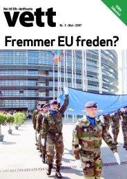 Skriftserien-VETT- 3_07_nettversjon.pdf - Nei til EU