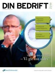 12-1 Din Bedrift.pdf - Bedriftsforbundet