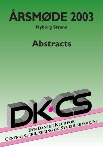 †rsm¿de 2003- Abstract - DKCS