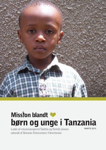 Forår og sommer 2012 - Tanzania