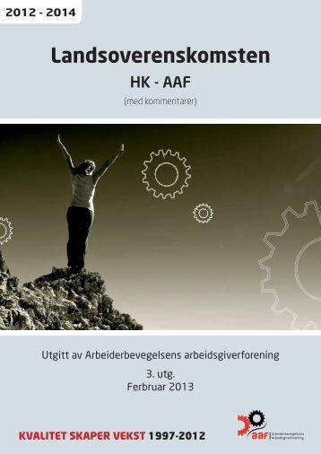 Landsoverenskomsten - Aaf.no