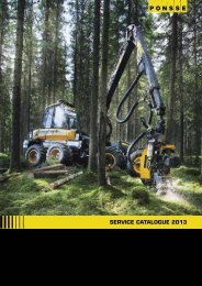 Service catalogue 2013 ENG In English - Ponsse
