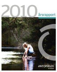 årsrapport - Areopagos