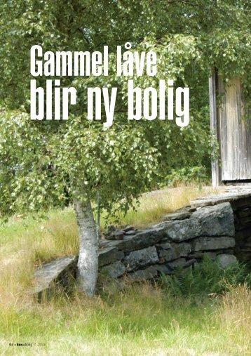 Gammel låve blir ny bolig.pdf - Huseiernes Landsforbund