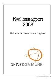 Virksomhedsplaner for de enkelte skoler - Skive.dk