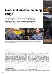 Avanceret laserbearbejdning i Køge - Lemvigh-Müller