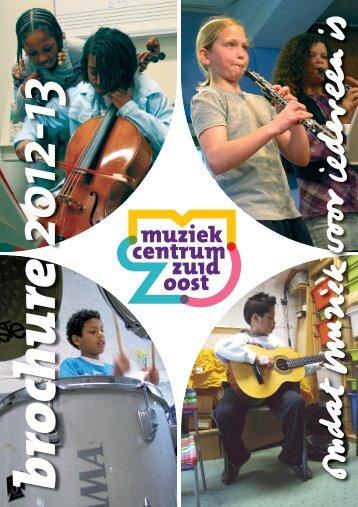 MZO Brochure (cursusaanbod) 2012-1 - Muziekcentrum Zuidoost